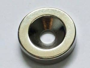 Neodymium Countersunk Magnets